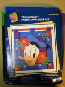 "Disney ""Donald Duck"" Fabric Applique Kit"