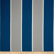 P Kaufmann Indoor/Outdoor Cabana Stripe Lagoon Fabric By The YD