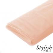Peach Tulle Fabric - 40 Yards Per Bolt