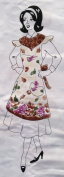 "AMERICAN VINTAGE Easy Cut and Sew FLIRTY APRON Kit ""FRUIT OF PLENTY"""