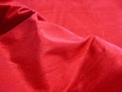 Thai Silk Dupioni - Red