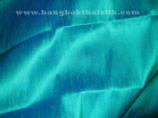 Silk Dupioni Fabric 186 Blue Lagoon