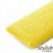 Yellow Tulle Fabric - 40 Yards Per Bolt