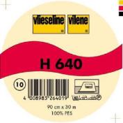 Vilene Iron-on Volume Fleece H 640 white-coloured; width 35.10 inch/90cm, price per metre