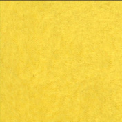 Solid Yellow Fleece Throw Blanket with Finished Edges Anti-Pill