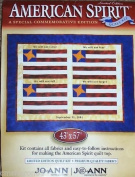 American Spirit Special Commemorative Edition Quilt Kit Designed By Quilt Designer Cindy Casciato