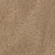 Solid Taupe Fleece Throw Blanket with Finished Edges Anti-Pill Brown