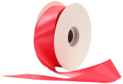 Offray Single Face Satin Craft 3.8cm by 50-Yard Ribbon Spool, Honeysuckle