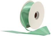 Offray Single Face Satin Craft 3.8cm by 50-Yard Ribbon Spool, Peapod