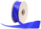 Offray Single Face Satin Craft 3.8cm by 50-Yard Ribbon Spool, Royal