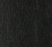 140cm G627 Black, Distressed Leather Look Upholstery Grade Recycled Leather (Bonded Leather) By The Yard