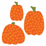Go! Fabric Cutting Dies It Fits!-Pumpkins
