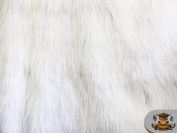 Faux Fur Long Pile WINTER FOX Fabric / 160cm W / Sold by the Yard