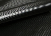 "Peel & Stick 3D Carbon Fibre Fabric - Not vinyl [Black : 50cm(19.68"") X 140cm(55.11"")] Super Flexible Self-adhesive Fabric - Made in Korea - Ship by Pantos Express."