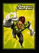 No Sew Fleece Throw Kit Green Lantern Fabric