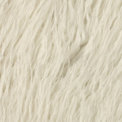 Faux Fur Curly Mongolian White Fabric