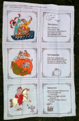 Janet McCaffery OLD MOTHER GOOSE NURSERY RHYMES Book Kit Quilt Sewing Craft Fabric RUB A DUB DUB, PETER PETER PUMPKIN EATER, & BANBURY CROSS