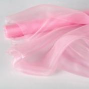 LinenTablecloth 150cm x 10-Yard Organza Roll Pink