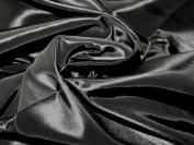 150cm wide Plain Shot Taffeta Dress Fabric Black - per 4 metres