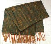 . Hand Woven - 100 % Thai Silk 180cm X 50cm Winter Scarf / Shawl / Tablecloth / Home Decoration