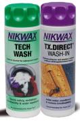 NIKWAX TECH WASH/TX DIRECT CLEAN & PROOF TWIN PACK