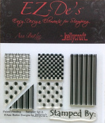 KellyCraft EZ-De's Sampler Polymer Stamp, Set A