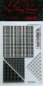 KellyCraft EZ-De's Star Polymer Stamp, Set A