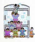 Snow Catcher Counted Cross Stitch Pattern