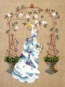 Rose Arbour Cross Stitch Pattern