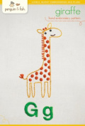 "Penguin & Fish ""Giraffe"" Hand Embroidery Pattern"