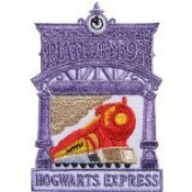 Fa12 - Harry Potter Hogwarts Express Kings Cross Platform Iron on Patch Size 2.25x3.5 Inches, 6x8.5 Cm