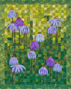 Coneflower Garden quilt pattern by 4th & 6th Desgins