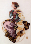 Mirabilia Autumn Queen Cross Stitch Pattern
