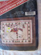 Carousel Christmas Horse Counted Cross Stitch Kit