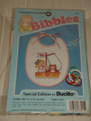 "Bibbles ""Sailor Girl"" Counted Cross-Stitch Bib Kit by Bucilla"