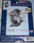 Hang in There-Counted Cross Stitch Kit-Dimensions