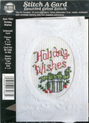 Stitch A Card Holiday Wishes Christmas Counted Cross Stitch Kit