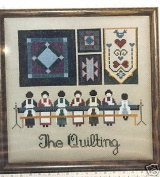 Told-In-A-Garden The Quilting Cross Stitch Pattern