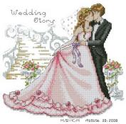 14 Counted Aida Cross Stitch Wedding Kit Kq091