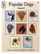 Pegasus Originals Popular Dogs Vol. III Counted Cross Stitch Chart Pack