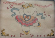 Bear Ballerina - Banar Designs Embroidery Kit #KEM 91029