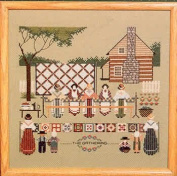 Told-In-A-Garden Piecemakers II Cross Stitch Pattern