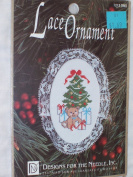 Tree Counted Cross Stitch Lace Ornament Kit