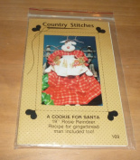 Christmas Cookie For Santa Rosie Reindeer Pattern