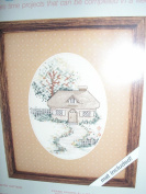 Weekenders Country Cottage Counted Cross Stitch Kit