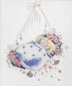 Rosebud Lullaby - Cross Stitch Pattern