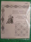 Granny Nanny's Quiliting Gadgets Paper Impressions - Storm at Sea