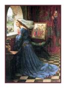 Fair Rosamund inspired by John William Waterhouse Counted Cross Stitch Chart
