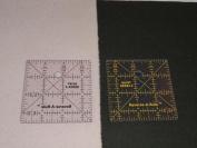 8.9cm x 8.9cm Standard Series Reverse-A-Rule - Unique & Innovative Squares, Rulers & Templates