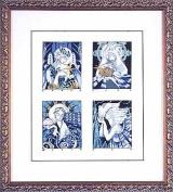 Deco Spirits - Cross Stitch Pattern